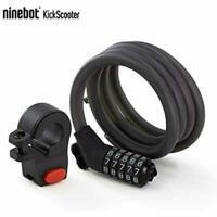 Segway Ninebot 5 Digit Combination Password Cable Lock For Bikes Scooters