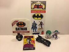 Batman, Batmobile, Joker Candy Dispensers, Decals, PVC Joker, Batman Topps Cards
