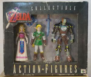 Ocarina of Time Action Figures Zelda Link Ganon BD&A