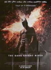 THE DARK KNIGHT RISES - NOLAN / BALE / HATHAWAY - ORIGINAL LARGE MOVIE POSTER