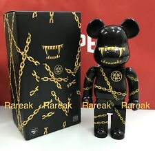 Medicom Be@rbrick 2018 Mishka x Long 400% Golden Chains Bear Club Bearbrick