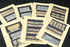 Amazing France French Colonies Revenue Fiscal Tax Stamp Collection Lot Indochina