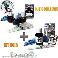 Pack kits Encre Couleur + noir HP78/ HP15 Recharge Jet d'encre