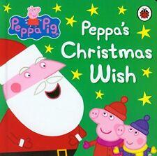 Peppa Pig Story Book - PEPPAS CHRISTMAS WISH - Board Book - NEW