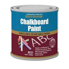 Rust-Oleum Tableau à craie Peinture ROUGE MAT 250ml Jouet sécurité séchage