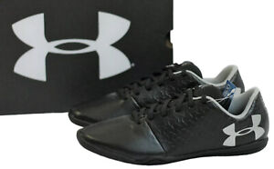 Under Armour Youth Size 3 or 4.5 Magnetico Select Indoor Jr Soccer Shoes Black