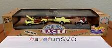 New ListingHot Wheels '99 A Night At The Races '48 Woodie & 60's Style Sprint Car & Trailer