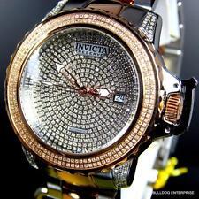 Invicta Reserve Subaqua Noma II 2 Tone Rose 2.91CTW Diamonds Automatic Watch New