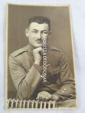 FOTO MILITARE  BERSAGLIERI BERSAGLIERE CICLISTA WW1 FREGIO BICICLETTA