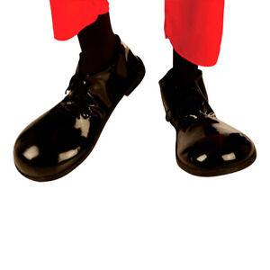 Clownschuhe Clown Schuhe schwarz Clownsschuhe Kostüm Zubehör Charlie Chaplin