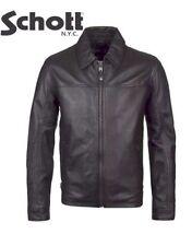 Zip Leather Coats & Jackets for Men SCHOTT