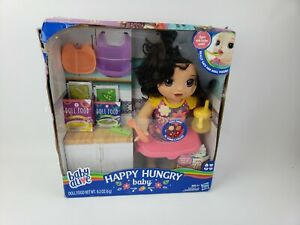 Baby Alive Happy Hungry Baby Brown Straight Hair Baby Poops Pees Cries