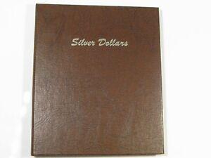 DANSCO Silver Dollar Album #7177 4 Page Pre-owned Some Sticker Goo.  #1