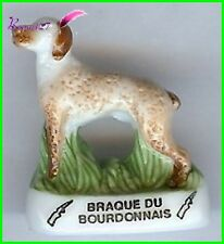 Feve Les Races de Chien Dog Edition Atlas Le Braque du Bourdonnais chasse  #A59
