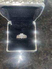 14K WHITE GOLD DIAMOND RING WEDDING ENGAGEMENT  APPRAISAL .5 TCW