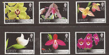 Jersey 2008 Orchids MNH