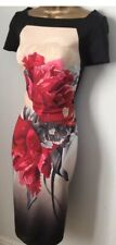 BNWT Gorgeous Coast Floral Scuba Occasion Party Wiggle Dress Size 16