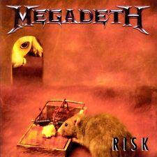 Megadeth Risk CD+Bonus Tracks NEW SEALED 2004 Remixed & Remastered Metal