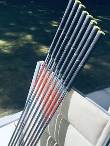 8 NIPPON NS PRO MODUS 3 TOUR 120 STIFF SHAFTS + GRIPS