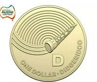 The Great Aussie Coin Hunt Australia Post 2019 $1 Dollar Coin | D FOR DIDGERIDOO