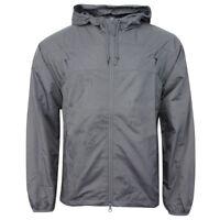 Nike Active Mens Water Repellent Full Zip Windrunner Jacket Grey 328067 065 R2A