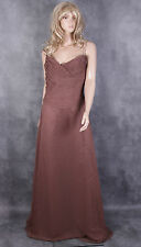 Romantica Brown Dress Bridesmaid Ball Gown Size 14 Ladies Wedding Party Frock