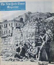 PALESTINE ISRAEL ARAB - WELLES BERLIN - PALOMAR TELESCOPE U.N Times 5-1948 May 9