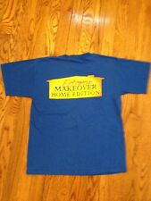 Extreme Makeover Home Edition TV Crew T-Shirt Sz Youth Small  from Set. New!