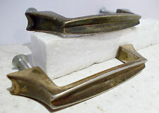2anciennes Handles for Furniture or Drawer Metal Colours Golden
