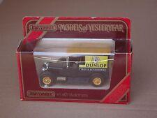 Matchbox Model of Yesteryear MOY Y-5 1927 Talbot Van Dunlop Neuf Boite (#CLA-5)