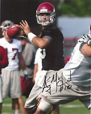 AJ McCARRON ALABAMA CRIMSON TIDE SIGNED 8X10 PHOTO COA