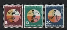 Papua New Guinea 1966 South Pac. Games SG 97/9 MNH
