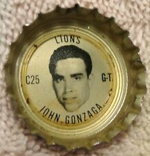 1966 Coke - Fanta Lions Bottle Cap - John Gonzaga