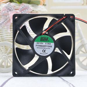 FYH 9cm 9225 12v 0.36A  FYH9025D12HS computer case motherboard CPU fan