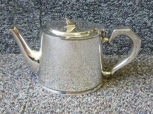 Gladwin Ltd Embassy Silver Plated 1 Pint Tea pot Art Deco