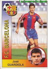 061 JOSE GUARDIOLA ESPANA FC.BARCELONA STICKER CROMO LIGA 1995 PANINI