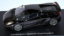 Lamborghini Gallardo Superleggera 2007 negro negro metálico 1:43 AUTOart