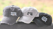 Women's Custom Dog Mom Mama Baseball Cap Embroidered Design Hat Aussie Doodle
