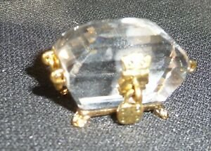 Vintage Swarovski Crystal Treasure Chest
