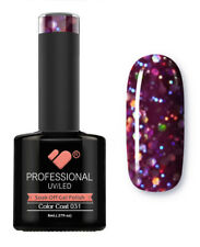 031 VB™ Line Purple Large Glitter - UV/LED soak off gel nail polish