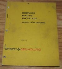 New Holland Tr-95 Combine Parts Catalog Manual 5009510 Issued 1980 nh