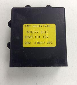 OEM RY310 NEW Windshield Wiper Motor Relay *1992-1999)