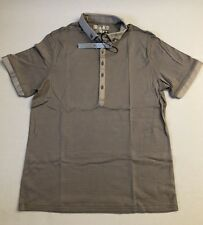Guess Mens Polo Shirt Size Large BLACK LABEL New