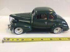 1:24 Scale Diecast 1939 Chevrolet Coupe Hot Street Rod Metal Model Chevy Bow tie