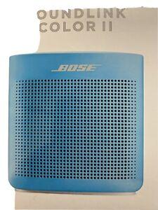 bose soundlink II bluetooth speaker BLUE Color