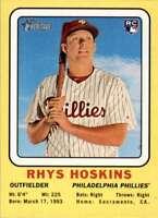 2018 Topps Heritage Rhys Hoskins Rookie Philadelphia Phillies #69CC-RH