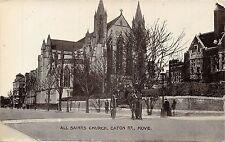 POSTCARD  SUSSEX   HOVE  All  Saints  Church  Eaton  Rd
