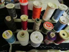 ASSORTED  COLOURS & SEWING THREADS  Cotton, POLY ,GUTERMANN 250 /100M ,  Coates