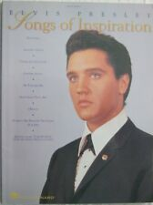 Songs Of Inspiration Elvis Presley Easy Piano / Guitar