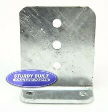 """(2) 6"""" GALVANIZED Boat Trailer L Type 1/4 inch Thick Bunk Brackets Float On"""